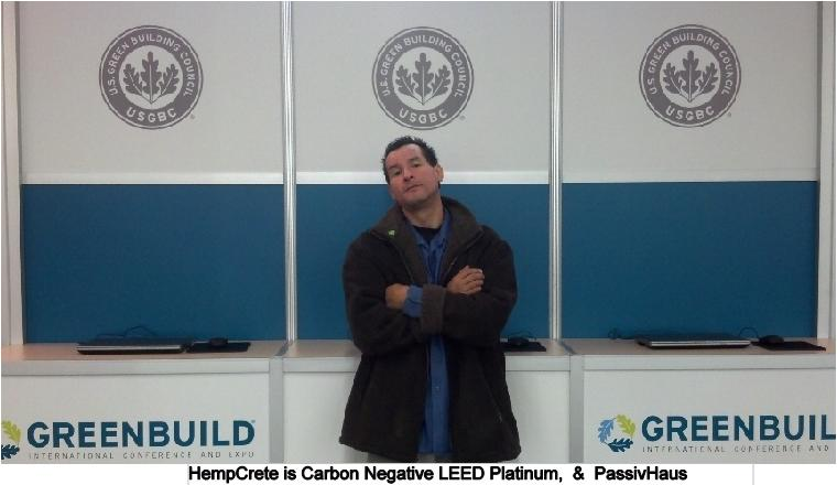 USGBC HempCrete IS LEED PLATINUM Albert Guadan