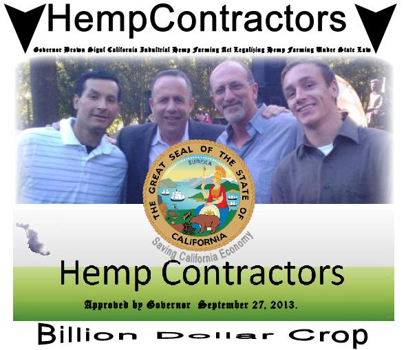 Hemp Passes Gov Hemp News California sep 27 2013 Guadan.net